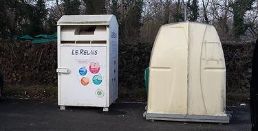 Conteneur vêtements - Le Relais Est