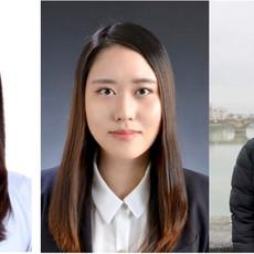 Shin lab welcomes three new members