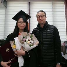 Yubin received her master's degree