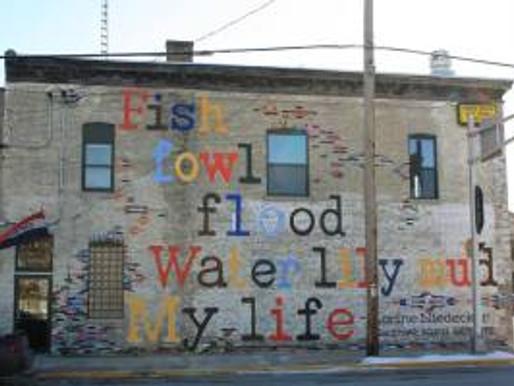 Literary Mural Project Seeks Poems