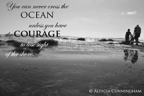 Alyscia Cunningham  Courage Photo