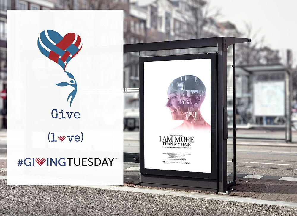 I-am-more-than-my-hair-bus-shelter-billboard_givingtuesday
