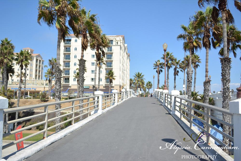 Photo of the Oceanside Pier.