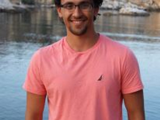 NEOMFA Student Board Member Tommy Mihalopoulos