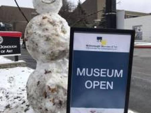 Ekphrastic Workshops & Reading at the McDonough Museum of Art