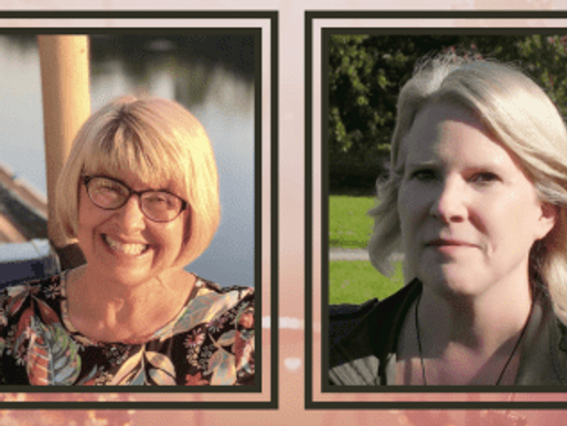 First Wednesday: Grace Curtis & Laura Grace Weldon (Zoom & FB Live)