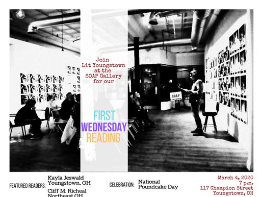 First Wednesday: Kayla Jeswald & Cliff Richeal