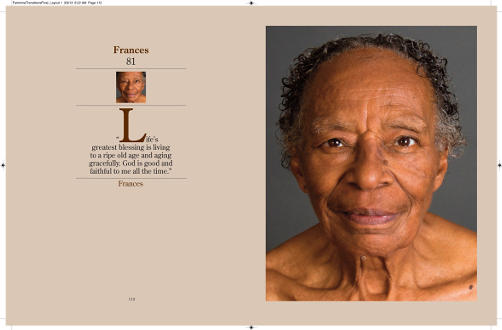 Portrait of Frances age 81 (excerpt from Feminine Transitions)