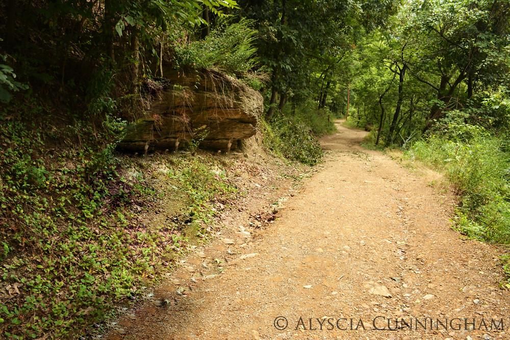 Trail in Harper's Ferry, WV