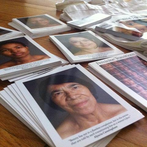 Feminine Transitions book fundraiser perk gifts