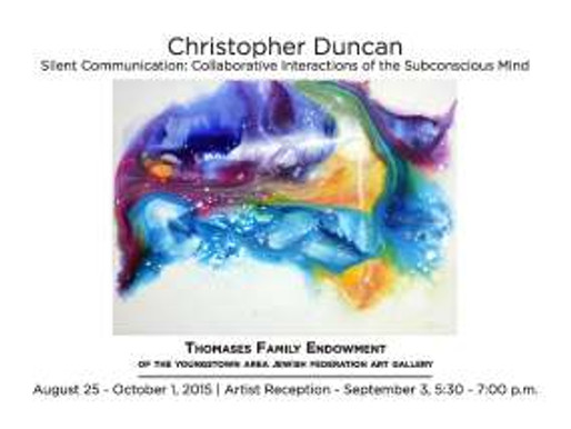 JCC Thomases Gallery Readings