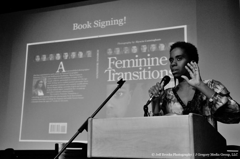Alyscia Cunningham talking about Feminine Transitions