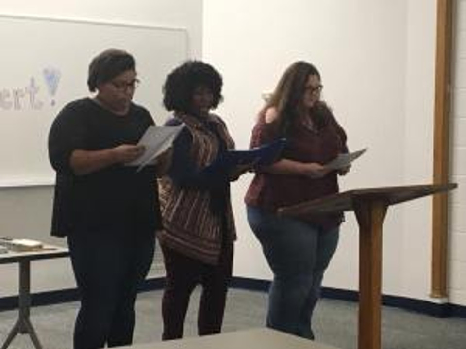 staged reading ft smith