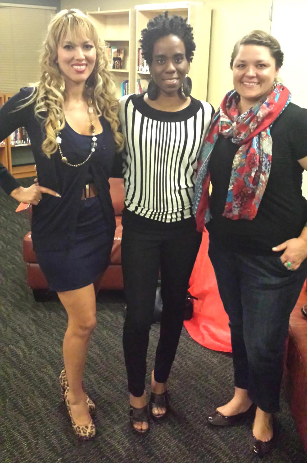 Kristy Salazar, Alyscia Cunningham and Sheena Whitaker