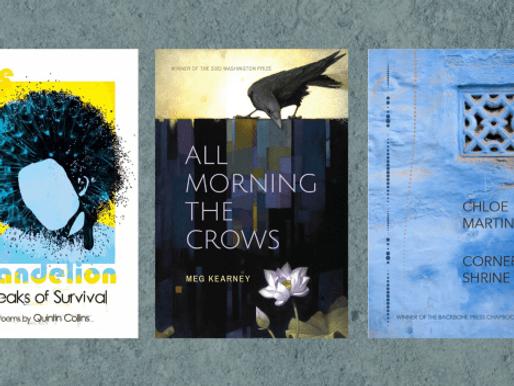 New Book News: Quintin Collins, Meg Kearney & Chloe Martinez (YouTube Live)