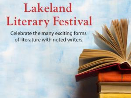 Join us at the Lakeland Literary Festival