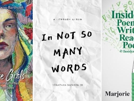 New Book News: Pamela Anderson, Jonathan Jackson, Jr. & Marjorie Maddox