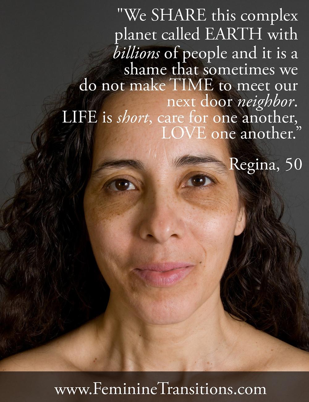 Regina's View On Life