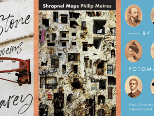 New Book News: Kevin Carey, Philip Metres & Kim Roberts (YouTube Live)