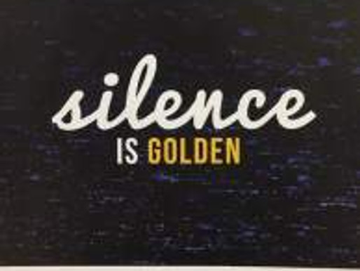 Words Made Visible/Silence is Golden