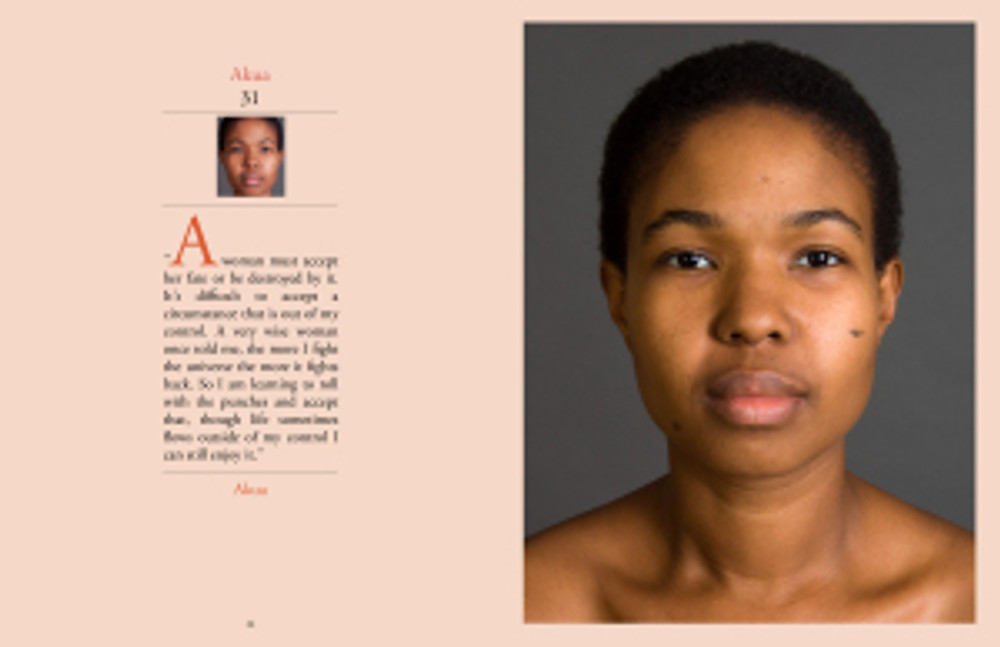 Feminine Transitions page layout