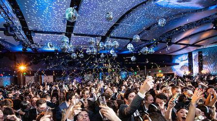 New Year's Eve event at the Georgia Aquarium