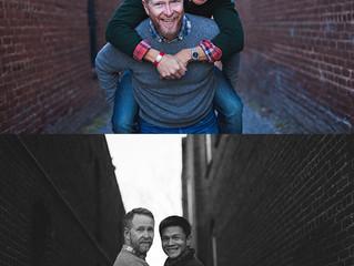 Craig and Joe in Decatur