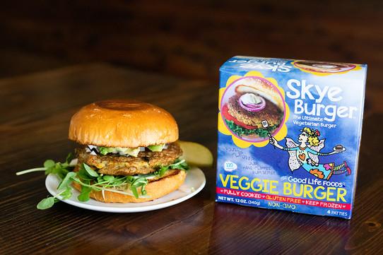 Skye Burger Food Photography