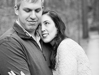 Engagement Portraits in Lullwater Preserve