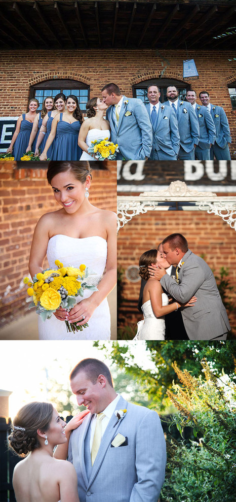 Wedding Photography at the Cotton Mill in Monroe, Georgia