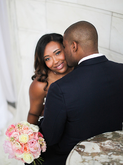Wedding in downtown Atlanta