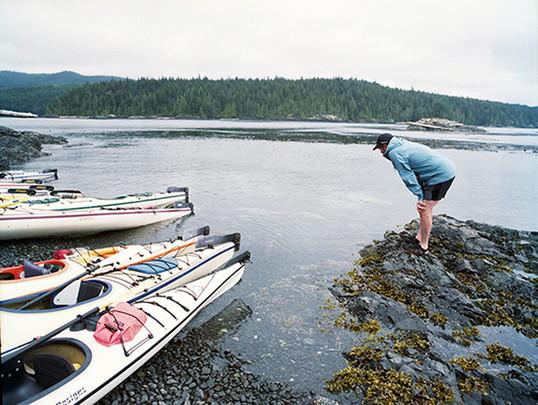 Kayaking British Columbia Film Photography