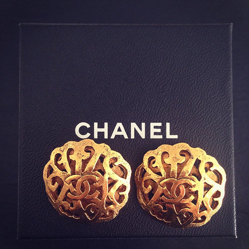 Chanel Baroque Earrings