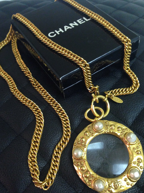 The !!!!! CHANEL Magnifying Pendant