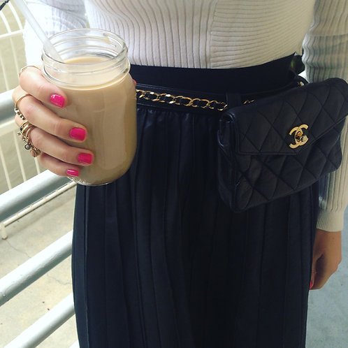CHANEL Quilted Fanny Pack