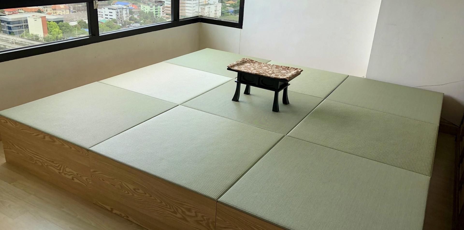 MESEKI GREEN x Tatami Living Corner 9 ชุด