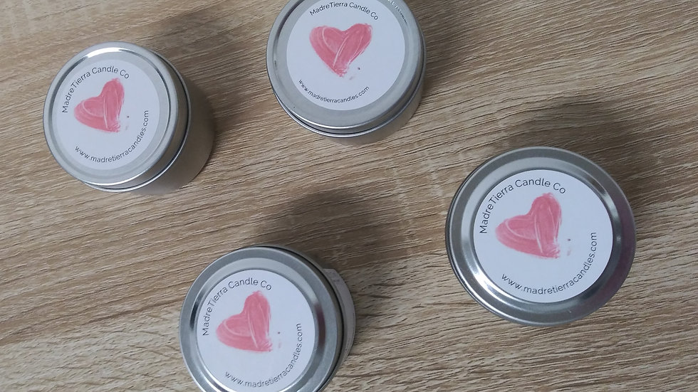 Hearts Candle Set of 4