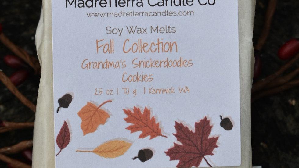 Grandma's Snickerdoodle Cookies