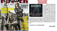 """LATF's album """"Dethrone The Crown"""" has a little write up in Power Play Magazine"""