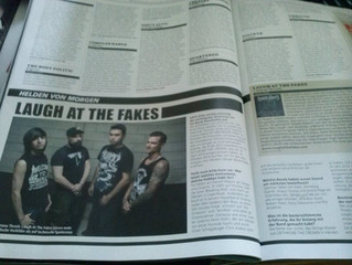 """LATF feature in the legendary magazine """"Metal Hammer"""""""