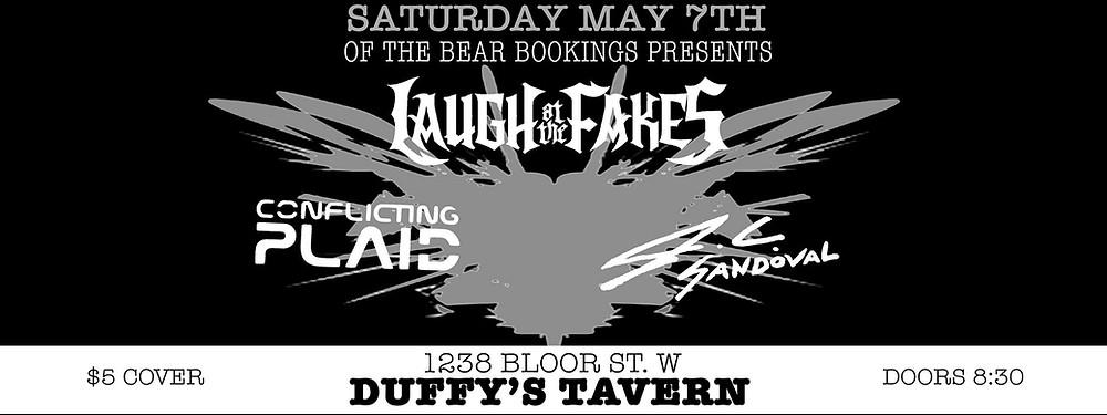 Laugh At The Fakes Live At Duffy's Tavern!