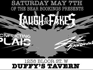 LATF LIVE at Duffy's Tavern This Saturday May 7th