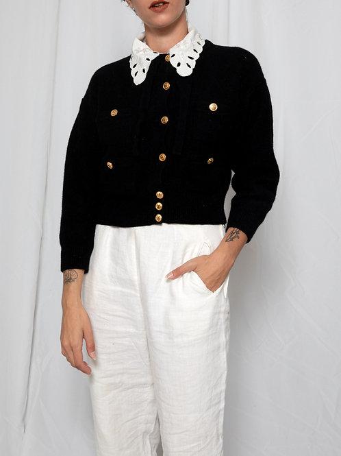SONIA RYKIEL 80's buttons sweater