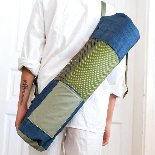 Denim Yoga Bag