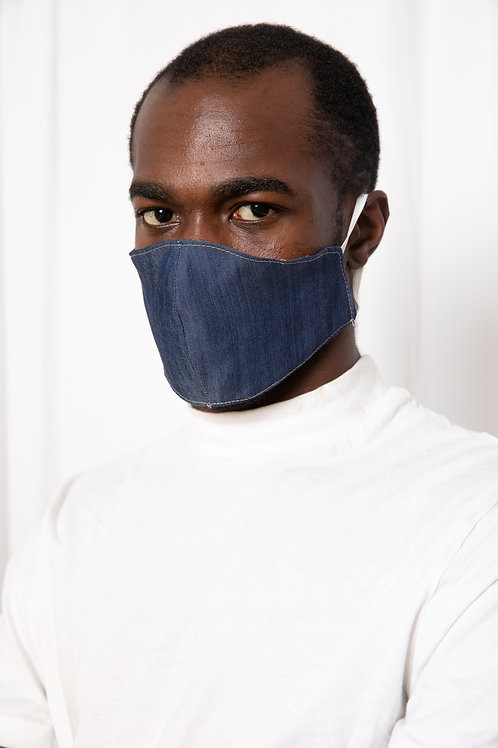Denim Mask