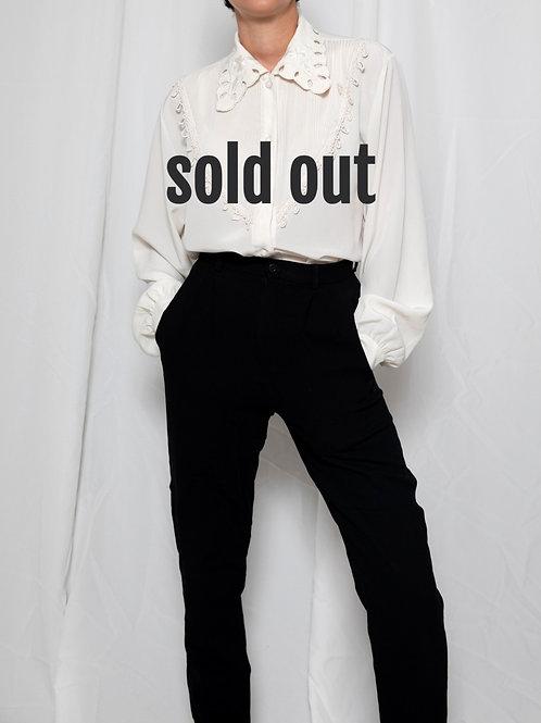 White vintage shirt