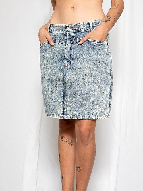 90s jeans skirt