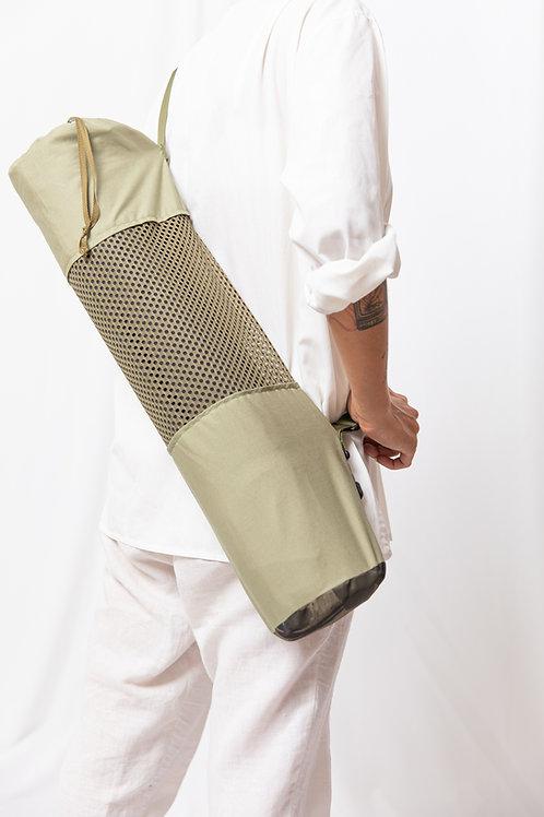 Olive Green Yoga Bag