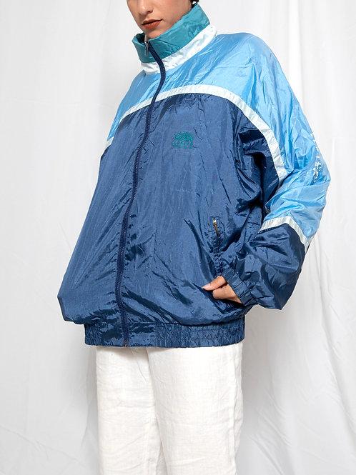 90s Blue Nylon Jacket