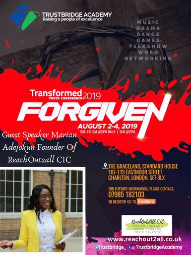 Guest Speaker Marian Adejokun Founder Of